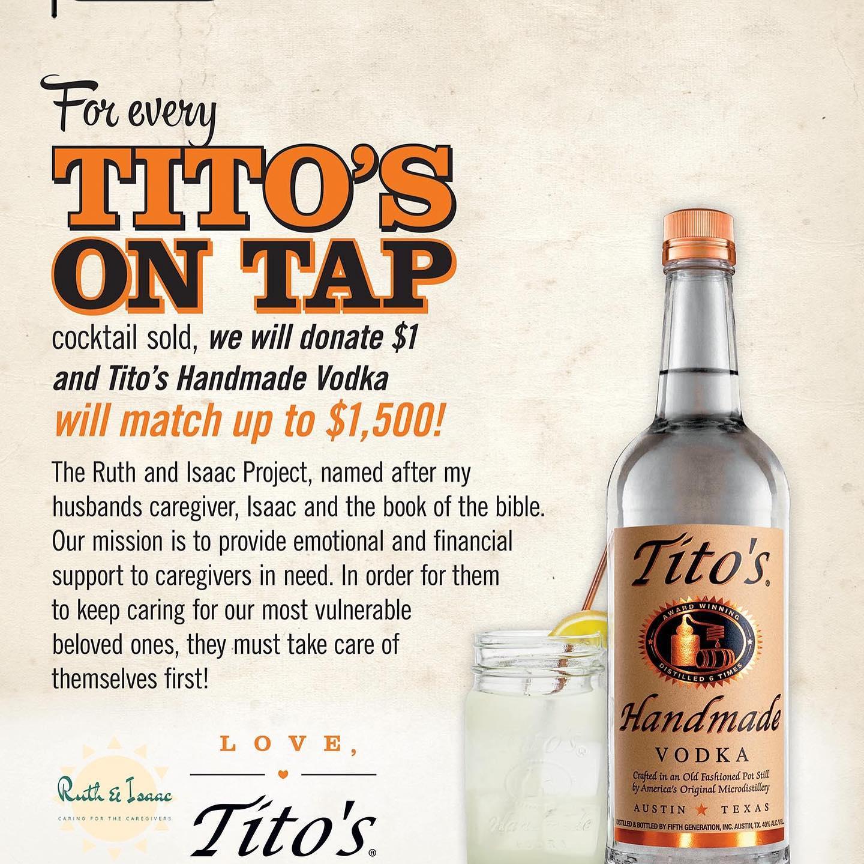 Titos On Tap!