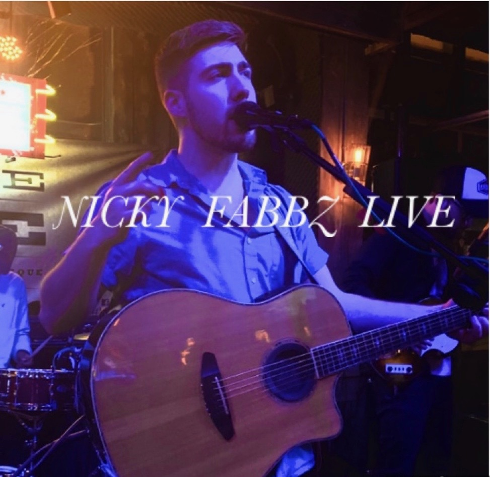 Live Music with Nicky Fabbz at 6:00 pm!