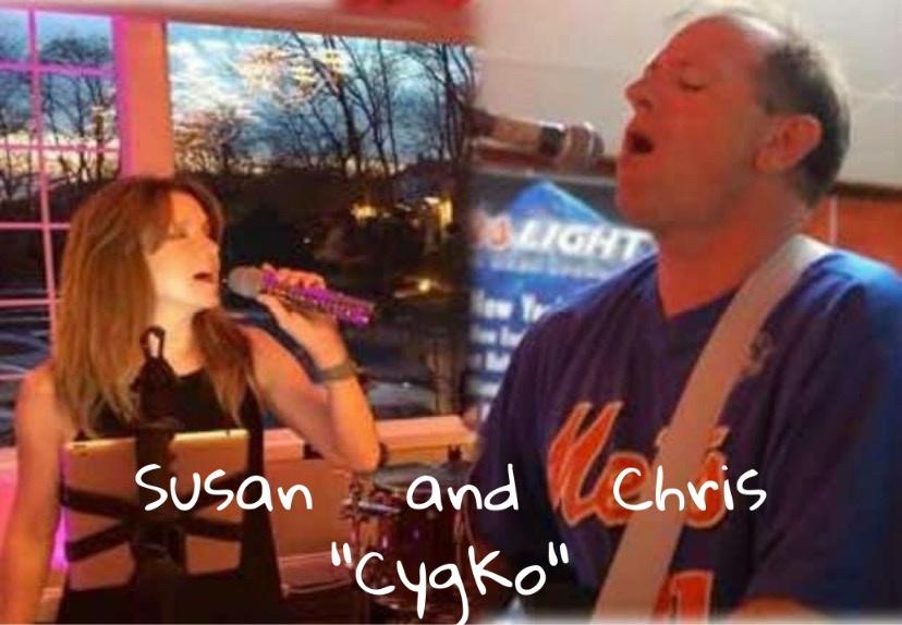 "Live music with Susan and Chris ""Cygko""!"